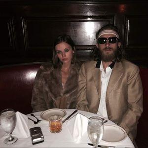Margot Tenenbaum, Halloween, Vintage Faux Fur Coat